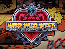 Автомат Wild Wild West: The Great Train Heist от Netent